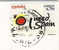 Spanien April (postcardlady1) Tags: stamp briefmarke