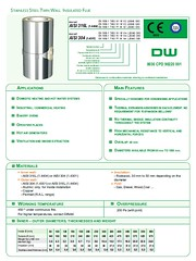 Airtherm DW Twin Wall Flue Systems page 3 (Airtherm Eng Ltd) Tags: chp flue chimneys stacks biomass boilers dilution hamworthy dinak midtherm chimneyliners stainlesssteelflues