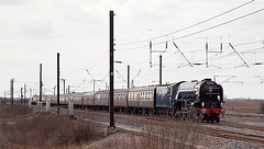 No 60163, Tornado, pictured at Colton Jct on Saturday 13 April 2013 (Keith Nunns Wakefield) Tags: york steamtrains steamdreams coltonjunction 60163tornado