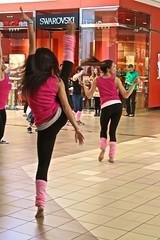 ImprovAZ Flashdance Flash Mob (sheiladeeisme) Tags: pink girls arizona hair women dancing musical barefoot improv 1980s legwarmers flashdance gammage flashmob improvaz fdfm chandlerfashioncenterasu