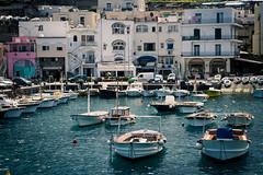 Capri docked