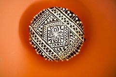 Henna Cupcake (B.Bubble) Tags: flowers food art cake design chocolate sugar cupcake sweets henna edible mehndi