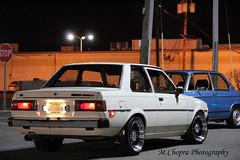 '80 Corolla (M.Chopra) Tags: auto cars car vw golf volkswagen newjersey automobile wayne nj toyota jersey bmw mazda fc sick rx7 meet chipotle automobiles corolla 1series stance waynenj fc3s bavarianmotorworks mazdarx7fc 1980corolla teamnjct