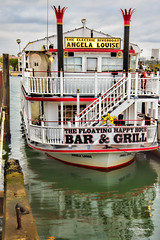 Party Boat (stephencurtin) Tags: california party usa color harbor boat inner louise photograph angela balboa thechallengefactory
