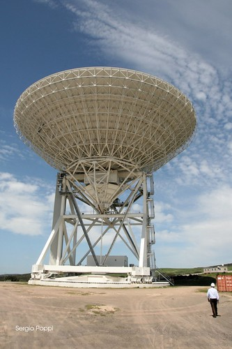 Towards the Sardinia Radio Telescope