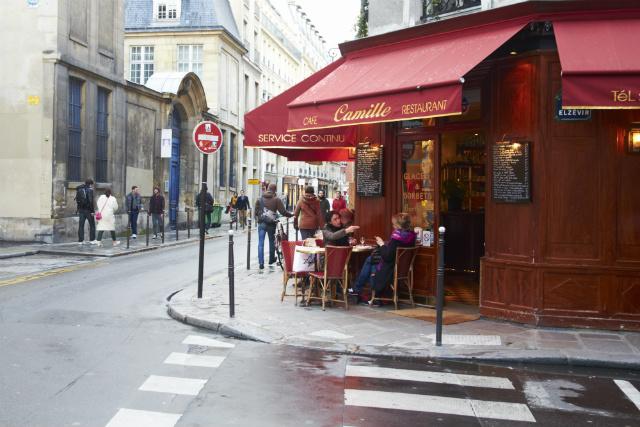 Paris Restaurant Camille Marais
