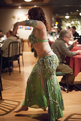 Rida at the Med Hookah - 03 16 13 (Drumdude Bill) Tags: beautiful redhead bellydance madisonwisconsin rida nikond700 nikkor50mmf14g mediterraneanhookahloungeandcafe doumtekphotography