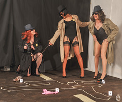 At The Scene Of The Crime! (kaceycd) Tags: stockings pumps highheels tgirl bodysuit stilettoheels pantyhose crossdress nylon spandex tg leotard stilettos nylons garterbelt garters suspenderbelt ffstockings sexypumps stilettopumps rhtstockings