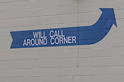 will call around corner