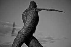 (soujouko) Tags: england sculpture somerset willow westcountry wessex wickerman serenadelahey