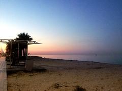 spiaggia al tramonto. (alesorride) Tags: blue sunset red sea beach night tramonto mare spiaggia marche mareadriatico portoselpidio alesorride