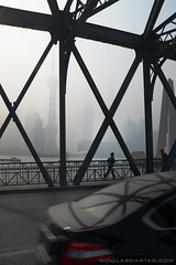 Metal bridge (Nicolas Harter) Tags: china street shanghai   chine