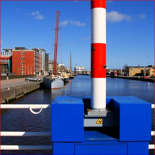 Masts and Barrier