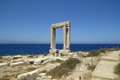 IMG_0067 (john blopus) Tags: naxos   hellas greece  island cyclades  beach  sea   water  gateway  archaelogicalsite