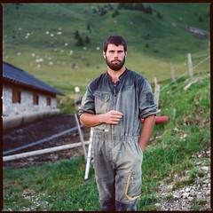 Italians (giancarlo rado) Tags: passodelbrocon malgari malghesi vitarurale hasselblad planar10035 portrait ritratto