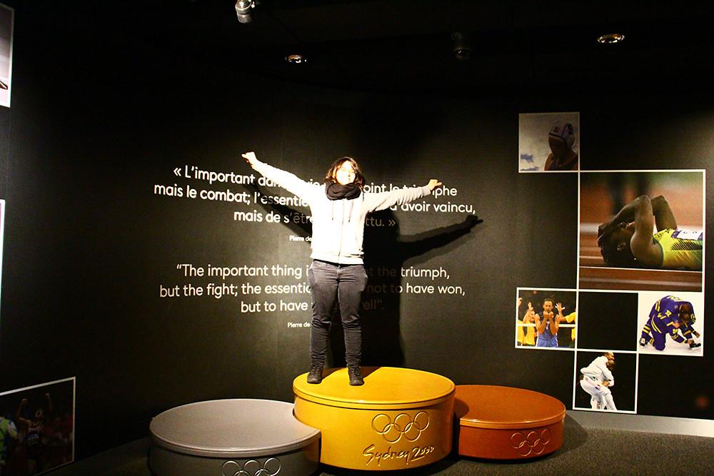 Museu Olímpico em Lausanne 5