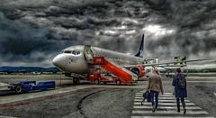 Scandinavian travel (morten.images) Tags: scandinavia norway airplane boeing 737 oslo travel sas