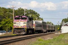 415 @ Shirley (imartin92) Tags: shirley massachusetts mbta massachusettsbaytransportationauthority commuter rail fitchburg line passenger train emd gp40mc locomotive