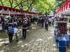 Youth bazaar (hastuwi) Tags: flickrfriday market gjui gjui22 bazaar bazar merahputih pasar abg