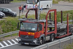 """Mercedes-Benz Actros """"STS"""" (Dawid Baczewski) Tags: mercedes actros sts"""