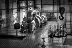 The Light Machine (ScopPics) Tags: kraftwerk industrie industry industrial power plant hdr 9exp photomatix black white