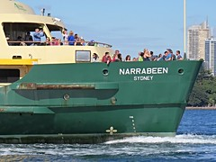 IMG_8091 Manly Ferry Narrabeen, The Stern. (Boat bloke) Tags: ferry boat ship narrabeen sydney sydneyharbour harbour harbor water coast waterfront manlyferry australia canon sx50hs