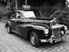 police wolseley (sunbeam31) Tags: nto 122 police car 1950s