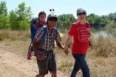 Hike with Lt. Governor Donna Lynne