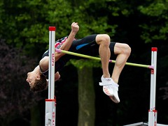 085 emile verdonck over 2m02 (babbo1957) Tags: belgian championship junior nijvel nivelles hoogspringen hauteur highjump verdonck azw