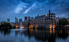 Den Haag (Mika Laitinen) Tags: canon7dmarkii denhaag europe leefilters netherlands architecture blue calm city cityscape cloud color dusk longexposure nightfall oldbuilding outdoor sky twilight water wideangle zuidholland nl ~themagicofcolours~xii