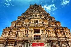 Virupaksha Temple Gopura (Entrance Tower) (aleem_114) Tags: uploaded:by=instagram virupaksha virupakshatemple vijayanagara vijayanagaraempire hampi hospet karnataka india temple heritagesite unescosite architecture