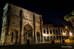 Arco di Costantino (dwarfphotos) Tags: roma foriimperiali colosseo sera lowlight nikon d5200 1855