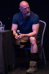 Q&A Panel (StephenieEloise) Tags: scotcon edinburgh outlander graham mctavish