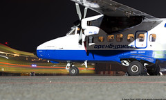 _DSC7112 (southspotterman1) Tags: l410 airplanes spotting unoo inomsk omsk airport     410  nightspotting