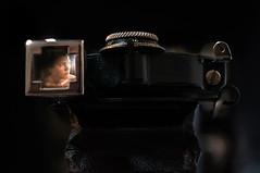 Self Portrait (HarryWard11) Tags: portrait self kodak old camera view finder light mechanical