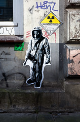 HH-Wheatpaste 3047 (cmdpirx) Tags: hamburg germany reclaim your city urban street art streetart artist kuenstler graffiti aerosol spray can paint piece painting drawing colour color farbe spraydose dose marker stift kreide chalk stencil schablone wall wand nikon d7100 paper pappe paste up pastup pastie wheatepaste wheatpaste pasted glue kleister kleber cement cutout