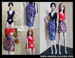 Kylie, Electra and Dita (marcelojacob) Tags: fashion royalty doll dolls marcelo jacob barbie mueca silkstone poppy parker victoire roux color infusion ci dynamite girls model muse fr2 tall body boneca ropa roupa apparel
