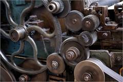 4. Masson Mills, Yorkshire DSCF1376 (janet.oxenham10) Tags: massonmills industrial urban yorkshire factory past bobbins threads