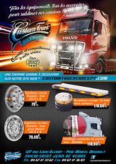 Trucking Style - Mag 09.2016 (X-FAB) Tags: truck camion custom customisation scania daf mercedes volvo man iveco fh4 montpellier france road logo chrome