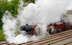 Steamy !! (ian con) Tags: newbury railways steam trains