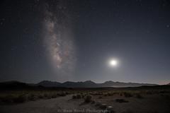 great place to camp D75_6821 (steve bond Photog) Tags: mammoth greenchurch hotsprings mountains california milkyway moon moonlitesky moonset