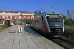 Varna - 10.040, local train Dobrich - Varna (lyura183) Tags: bulgaria railway train bdz bd station      desiro siemens varna