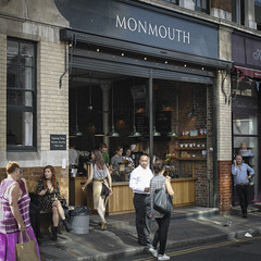 milling (channyuk) Tags: boroughmarket coffeeshop londonstreetphotography square monmouth merrill dp2m sigma