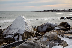 Winter beach at White Point (Scott-Simpson) Tags: winter beach novascotia getaway couples resort whitepoint babymoon