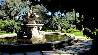 Fountain Vista, Huntington Gardens, Pasadena, CA. by Ross Care