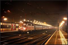 20130215 DB 115 509 met Alpen Express 13417 in Venlo (Koen Brouwer) Tags: station train gare ns zug bahnhof db venlo express alpen deutschebahn trein spoor 2012 februari landeck 13417 werbelok 115509 wintersporttrein