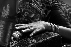 The devotee... (amwo) Tags: park india photography j ganesh idol mumbai mata galli 2012 gully shivaji navratri amey lalbaugh worlikar navratrifestival ganeshgalli ameyjw ameyjworlikarphotography lalbaughchimata