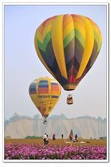 台南_走馬瀨_熱氣球_Hot Air Balloon (driftcloud) Tags: nikon hotairballoon 台南 走馬瀨 熱氣球 d700 sigma70300f456d