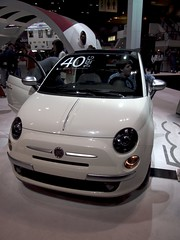 Fiat 500 (smaedli) Tags: chicago illinois unitedstates autoshow automotive transportation chicagoautoshow olympusep3 mzuiko135561442mm olympusmzuikodigitaled1442mmf3556iir