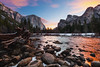 Yosemite - Gates of the Valley (Silver1SWA (Ryan Pastorino)) Tags: sunrise canon yosemite nationalparks valleyview gatesofthevalley canon5dmarkii
